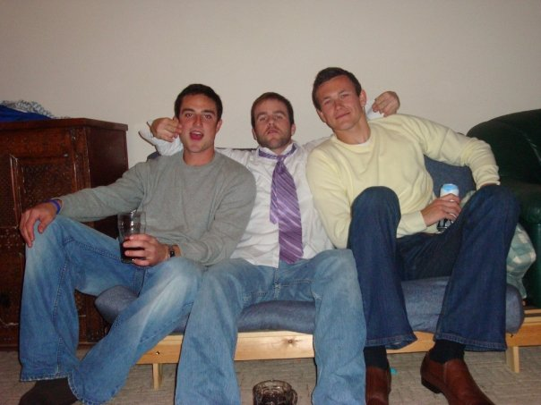 Duffy, Matt, and myself before going out