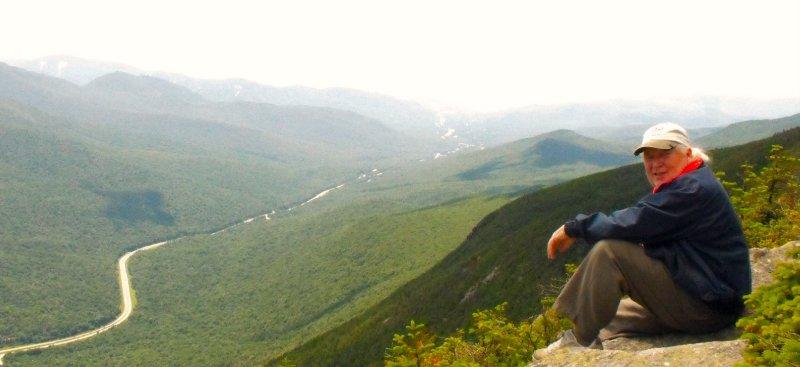 Author vermont mountain
