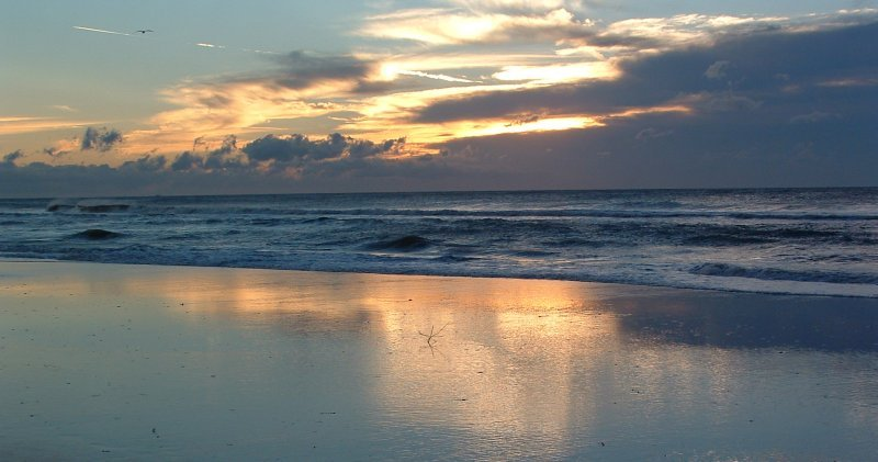FLORIDA St. Georges Island Morning Beach