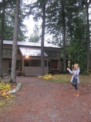 Internex sitt Staff House i Whistler
