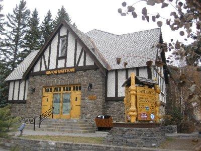 Turistinfo i Banff