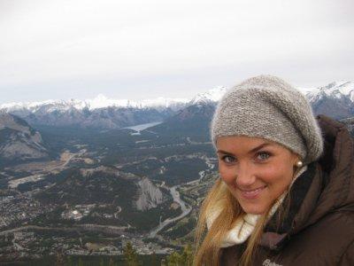 Utsikt over Banff town