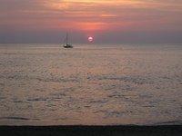 Solnedgang, Malpais