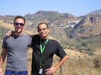 Daryl and Gareth near Casares, Andalucia, Spain