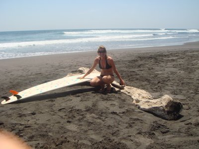 Surfing El Salvador