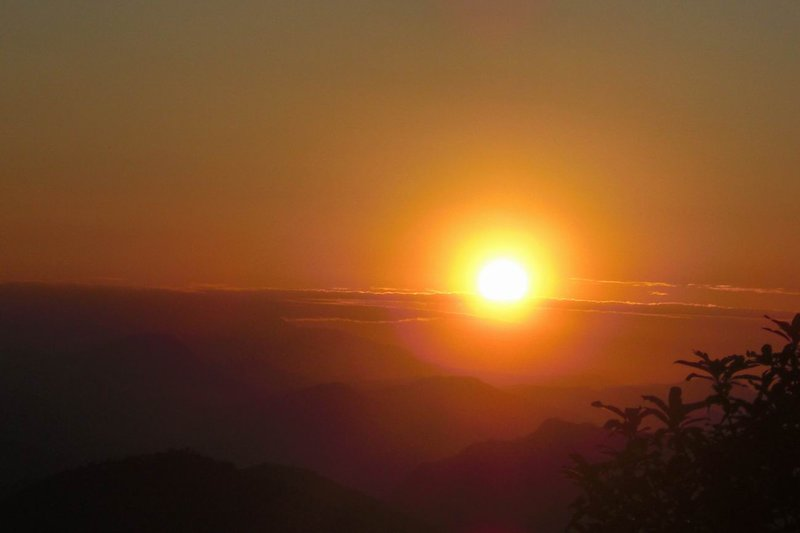 Sunrise from Sarangkot