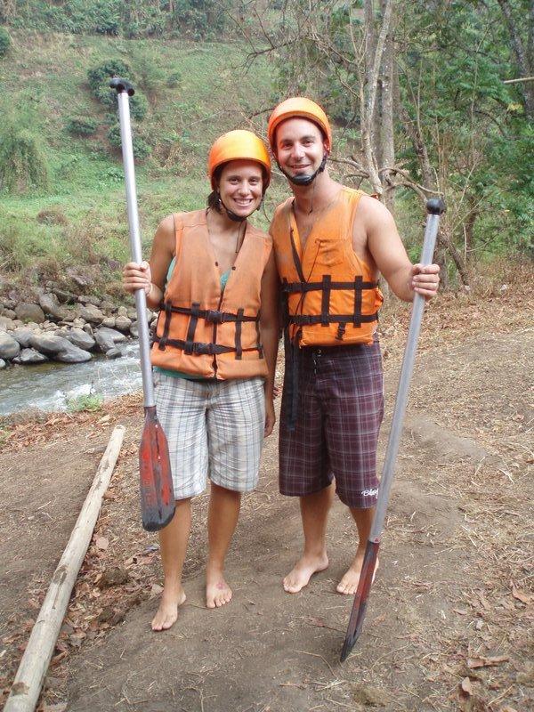 Rafting so much fun