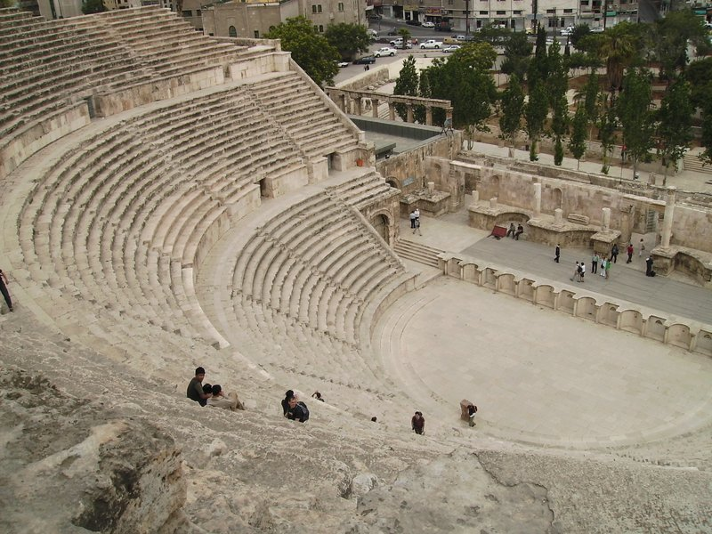 Roman theatre in Amman