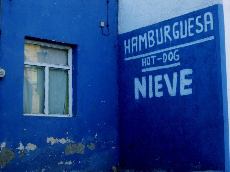 Zacatecas - hamburgery, hot dogi i snieg