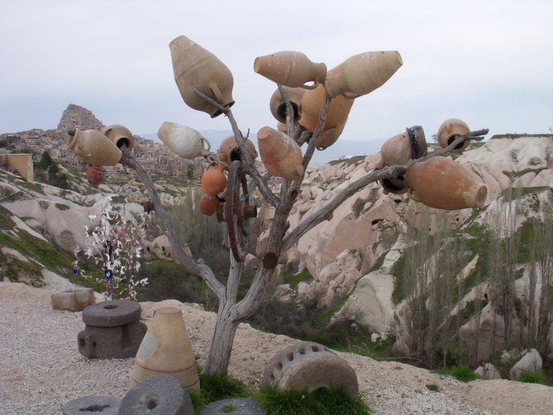 Pottery tree,  Cappadocia