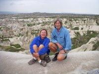 Tom and Els in Cappodacia