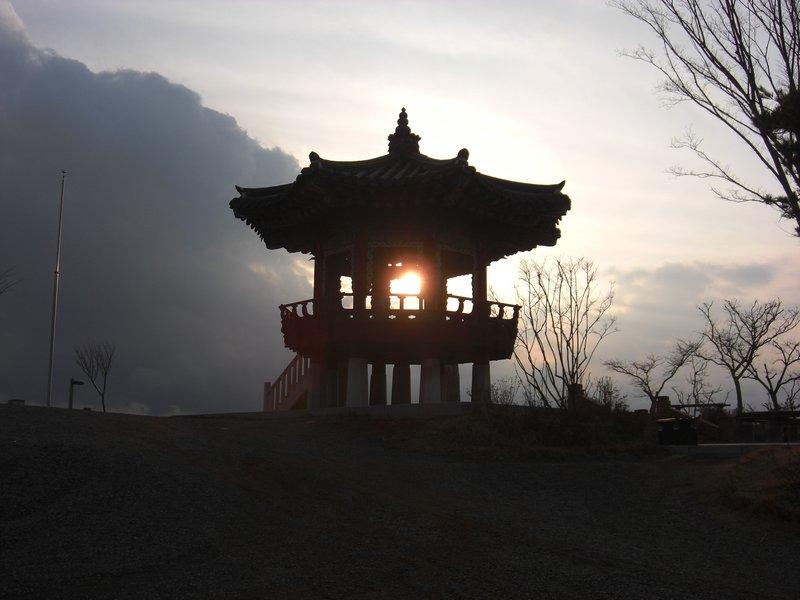 Gazebo on Yam Po Mountain