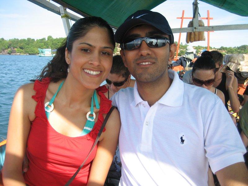 Boat trip to Island