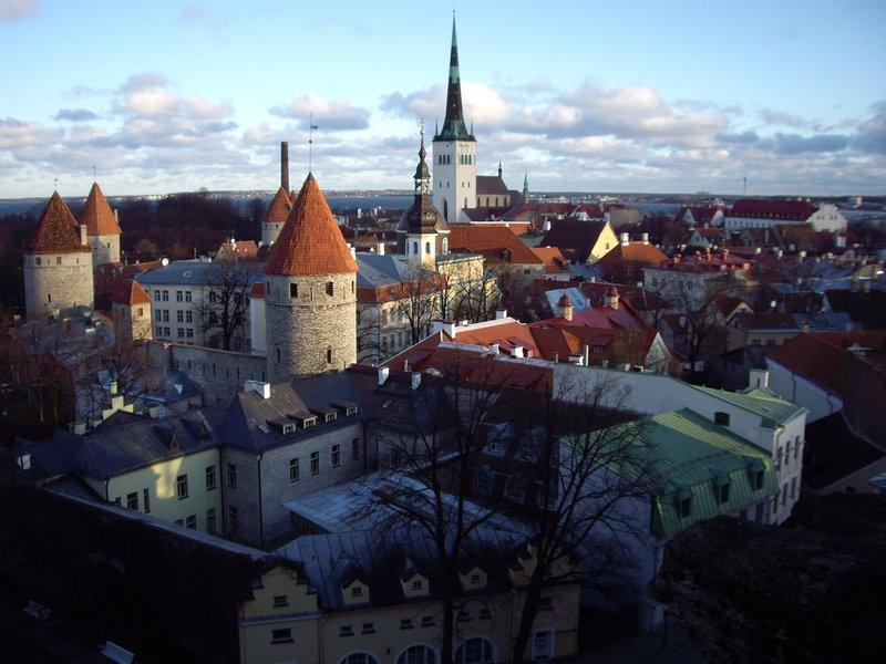 Tallinn on New Year's Day