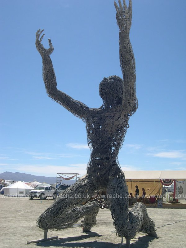 Burning Man 2008 - Playa Art