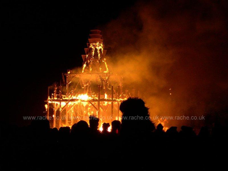Burning Man 2008 - The Temple Burn