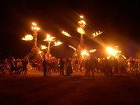 Burning Man 2008 - night times