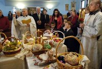 Blessing of the Easter Baskets