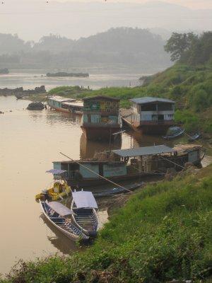 House boats galore