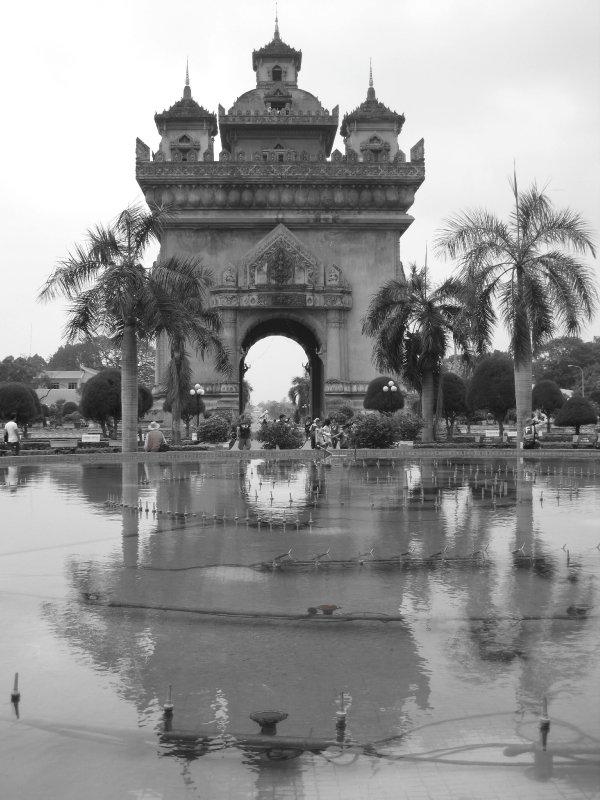 The so-called Arc De Laos