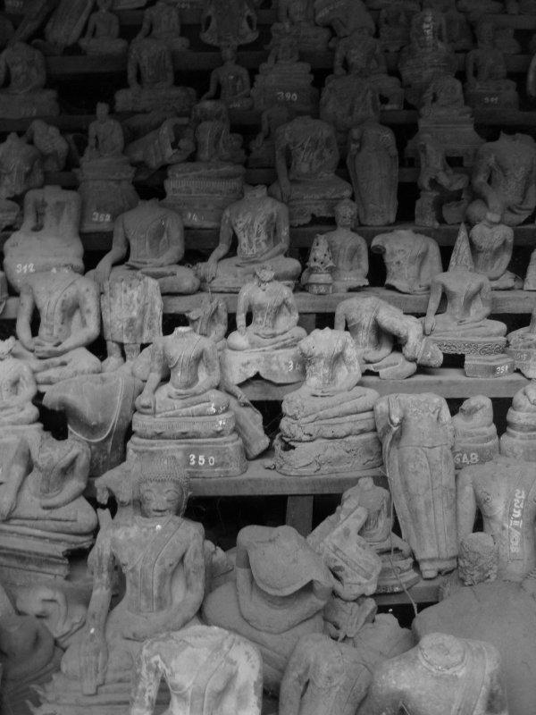 The broken buddhas