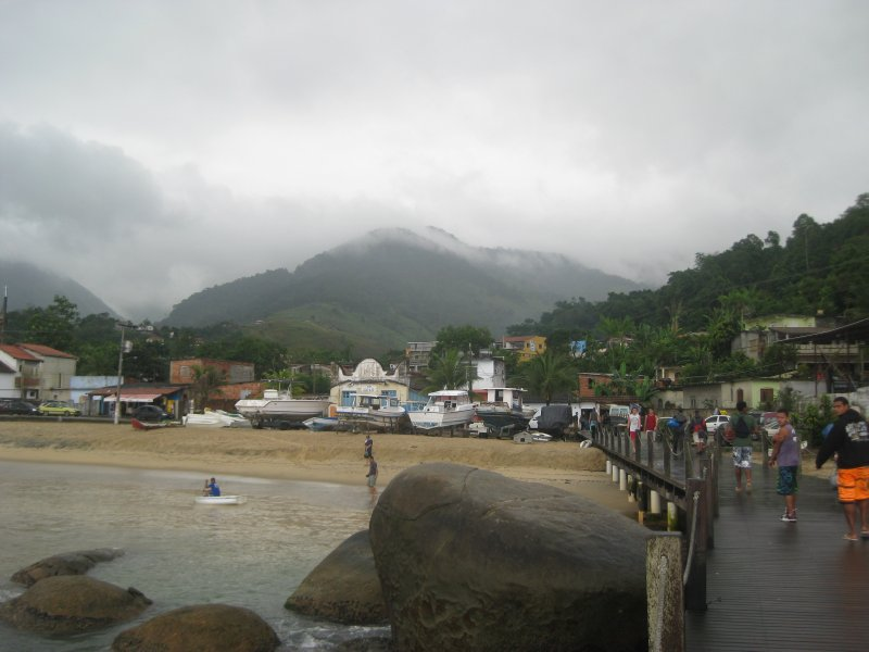 Arriving at Jacarei to go back to Rio