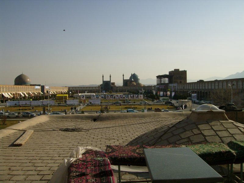 174 Iran Isfahan - View from the tea house