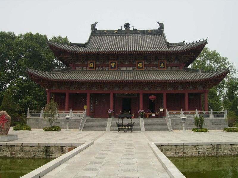 684 China Luoyang - a newly built Shaolin Temple