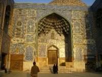 176 Iran Isfahan - A building off Immam square