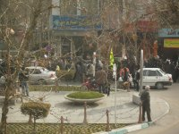 183 Iran Isfahan - more anti american and isreal marches