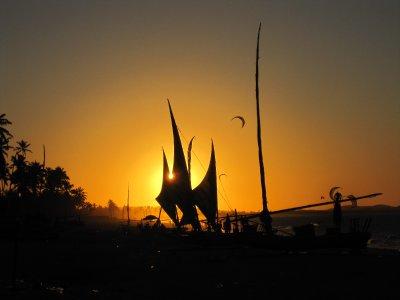 Sunset in Cumbuco