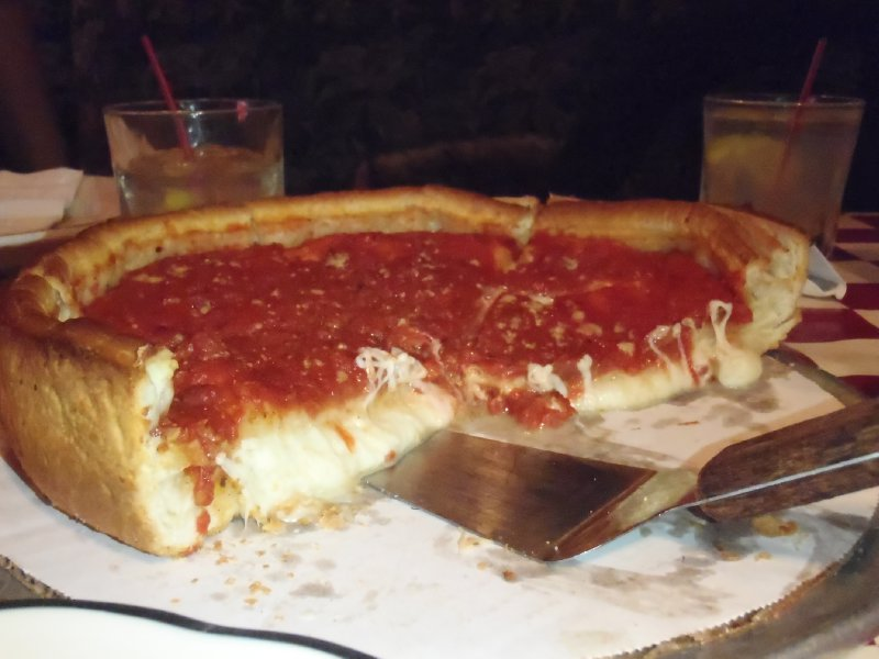 Giordano's Famous Stuffed Cheese Pizza