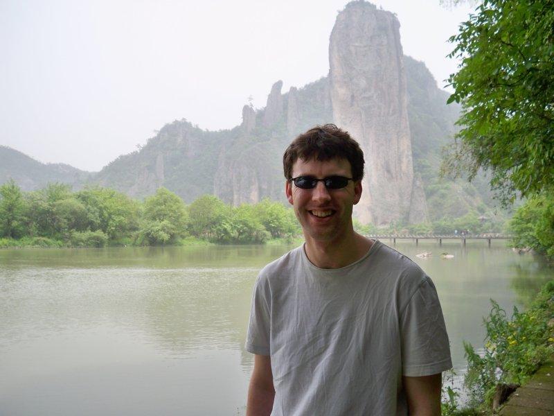 Bill before Dinghu Peak