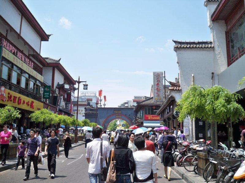 Ningbo shopping area