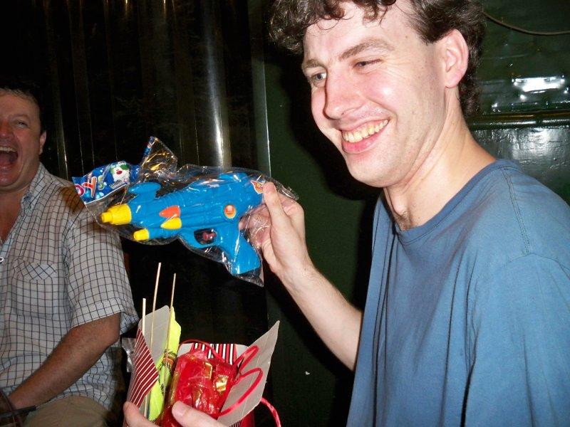 There were some joke presents - thanks Johane!