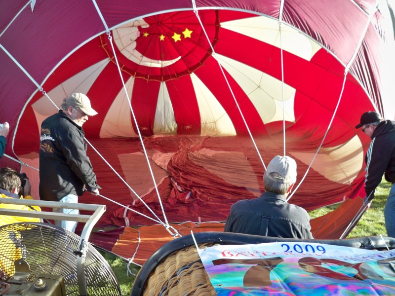...then gets inflated to this...