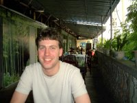 Bill on the terrace at San Yan Si