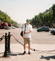 Bill in Paris 2001