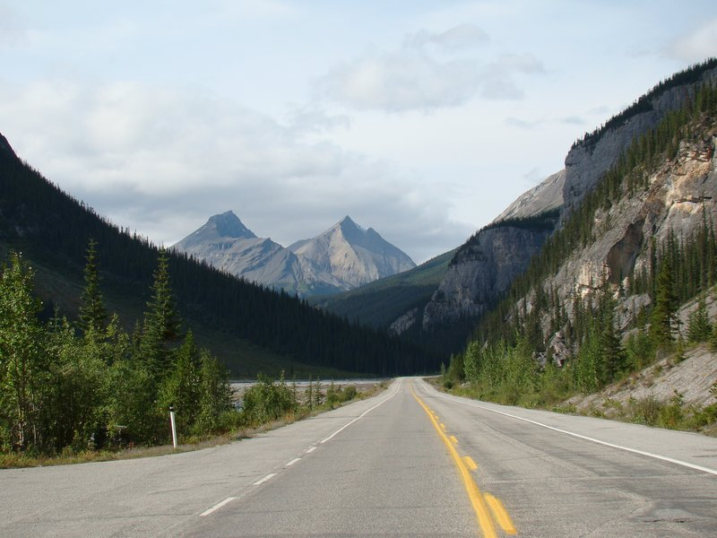 Driving Through the Rockies