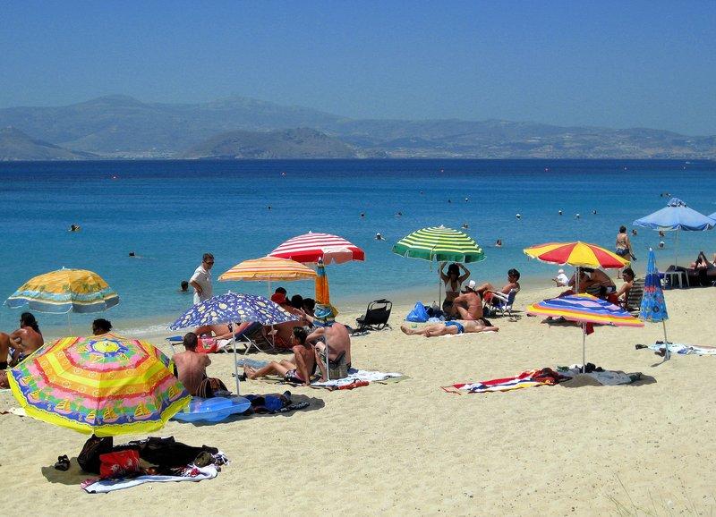 Agia Prokopios Beach at Naxos