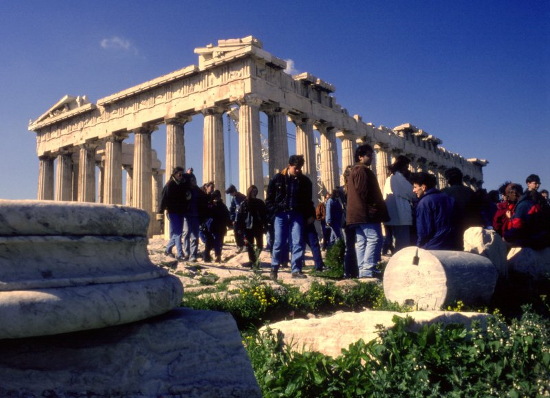 Parthenon as it was in 1979
