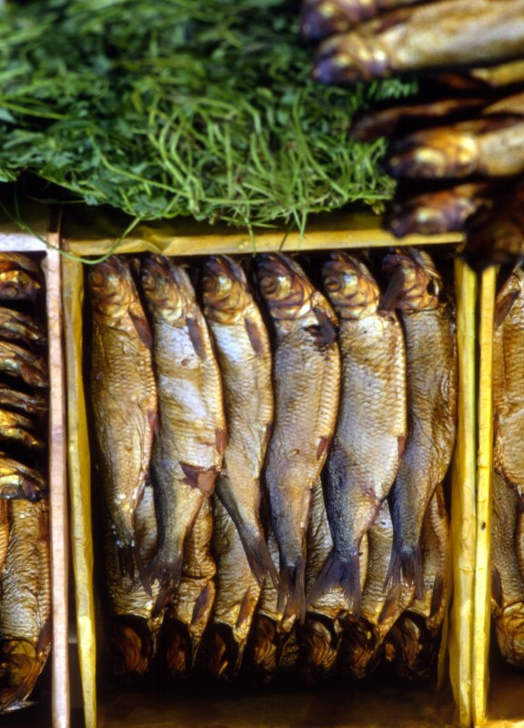Dried Fish in Cairo