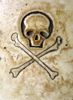 Byzantine Skull and Cross Bones