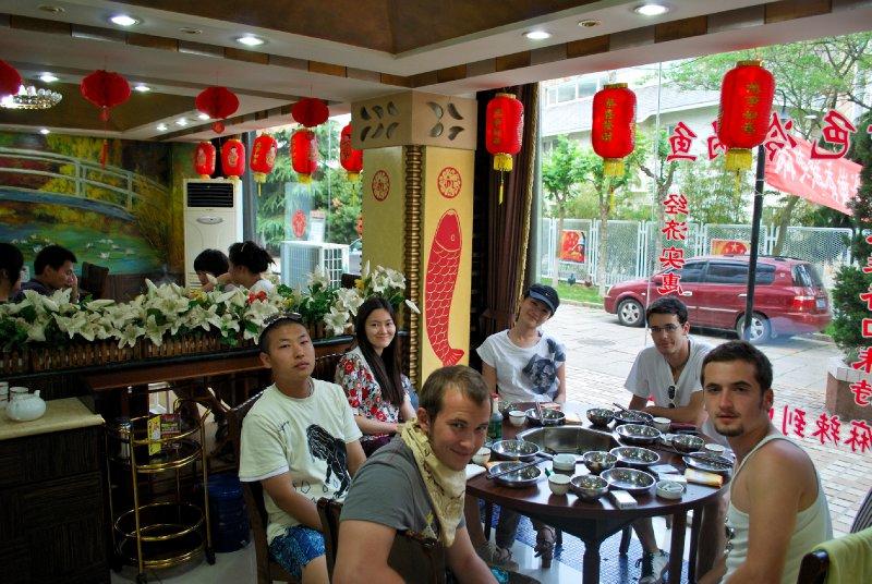 Sichuan Fish, Tsingtao Beer