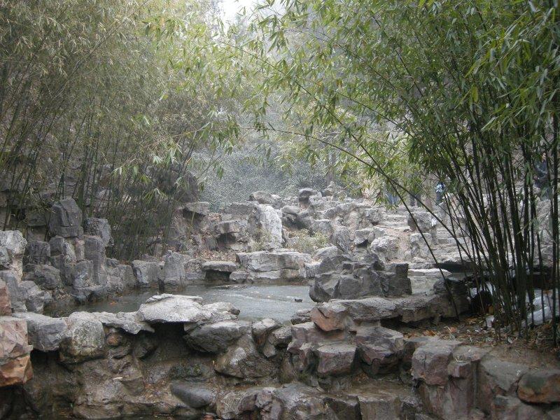 Gardens at Longmen caves