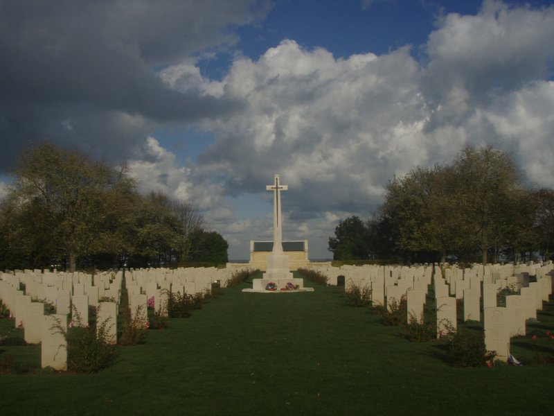 France - Canadian Cemetery in Normandy