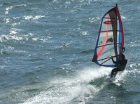Riding Wind and Waves