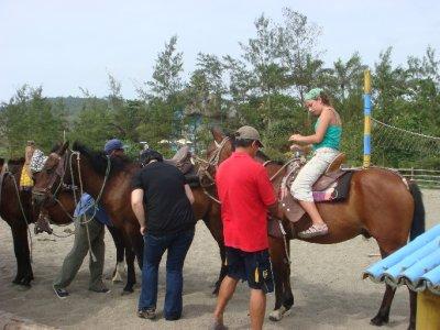 Ariel riding