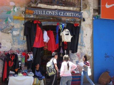 Halloween stalls