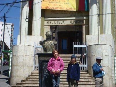 La Paz library